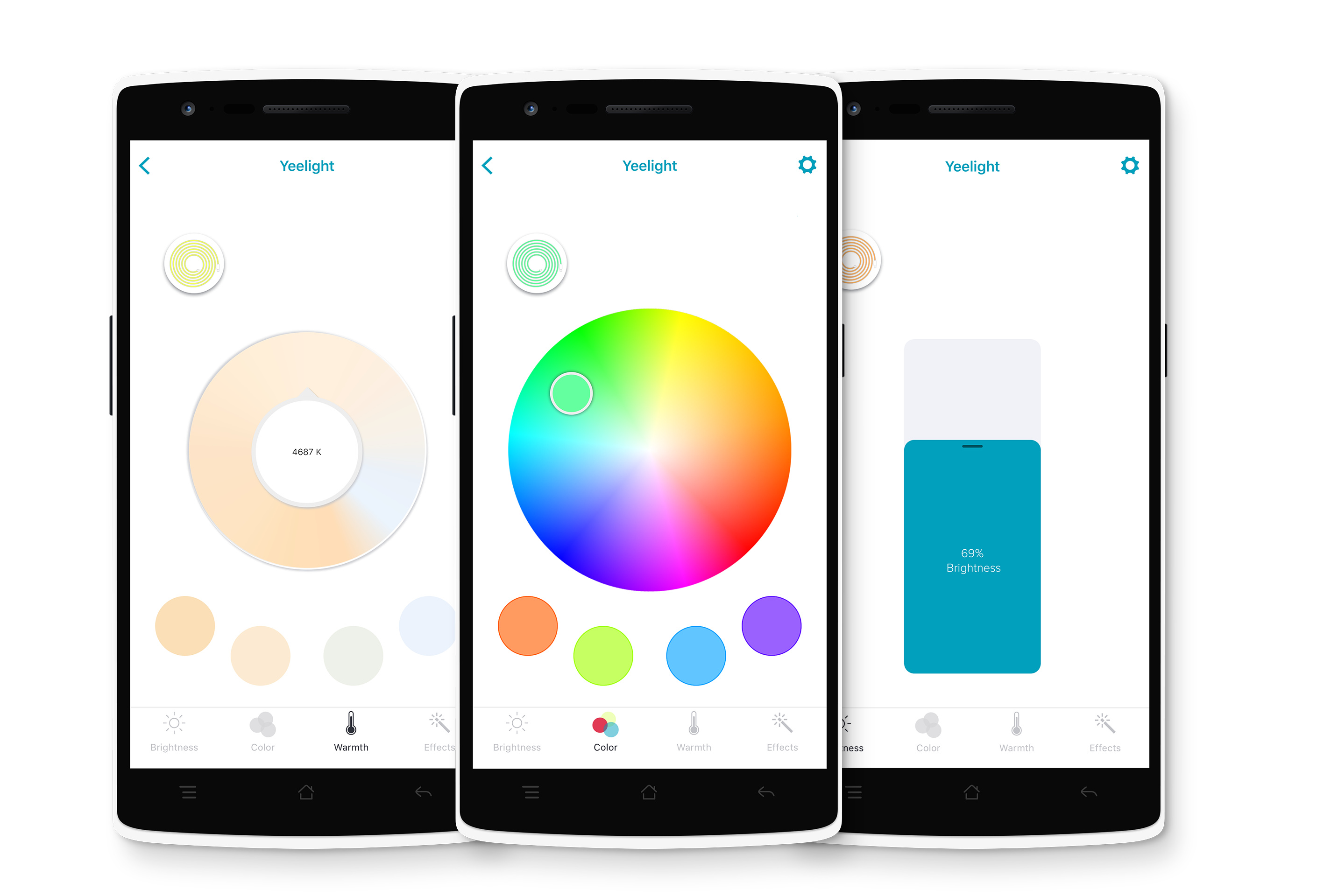 Update] Yeti, a new app to control Yeelight - Third Party